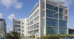 Fenward House: the building  is let to a leading software company with a rent roll rising to €430,000 from this year