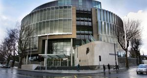 The  Criminal Courts of Justice in  Dublin. A garda told the court  there was no objection to bail with conditions for Mr  Hehir