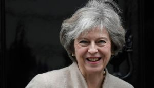 UK prime minister Theresa May. Her speech on Tuesday is expected to outline her Brexit plans.