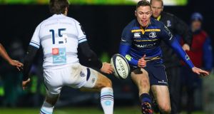 Leinster's Rory O'Loughlin started on the wing against Montpellier.  Photograph: James Crombie/Inpho