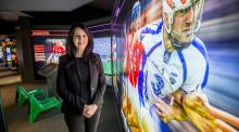 "Niamh McCoy: ""You can't get a more authentic experience than coming here to the museum and going to a match."" Photograph: Brenda Fitzsimons"