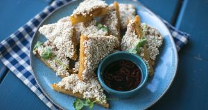 Donal Skehan recipe: Prawn and  sesame toasts