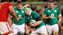Ireland hooker James Tracy in action against Canada at the Aviva. The hookers says you learn the most about yourself during big games. Photograph: James Crombie/Inpho