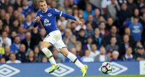 Gerard Deulofeu could be leaving Everton in the January window. Photograph: Getty Images