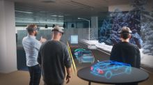 Irish technology company  begins working with Microsoft's Augmented Reality  headset