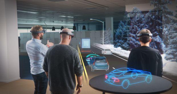 Volvo cars' Microsoft HoloLens experience