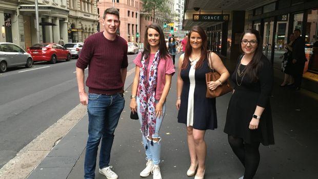 Gavin Grace, Elaine Doyle, Stephanie Lyons and Carol Friel who gave their  views on