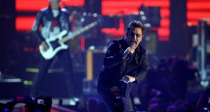 U2 perform during the iHeartRadio Music Festival in Las Vegas, Nevada, US. File photograph: Steve Marcus/Reuters