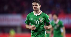 Robbie Brady is attracting plenty of Premier League interest. Photograph: Stephen McCarthy/Sportsfile via Getty Images