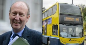 Minister for Transport Shane Ross: There remains another transportation peak to be conquered. It's called Bus Éireann