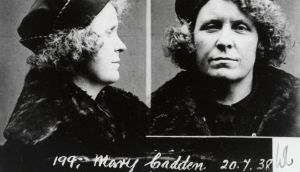 A prison photograph of Mamie Cadden, who made her living as a backstreet abortionist in mid-20th century Ireland