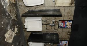 Inside the nightclub's bathrooms. Photograph: Natalie Bednarz/City of Orlando