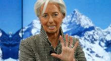 Christine Lagarde, managing director, International Monetary Fund (IMF) at the annual meeting of the World Economic Forum (WEF) in Davos, Switzerland