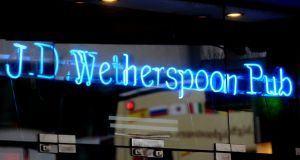 "Wetherspoon says it expects a ""slightly improved"" trading outcome for the current financial year compared with 2016"