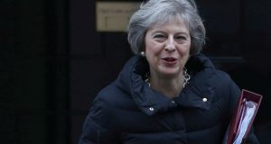 Theresa May outside 10 Downing Street. 'Her 12-point Brexit strategy will not survive its first contact with the enemy.' Photograph: Reuters/Neil Hall