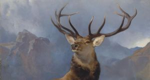 "The Monarch of the Glen, by Sir Edwin Landseer, is described as a ""masterpiece of Victorian art""."