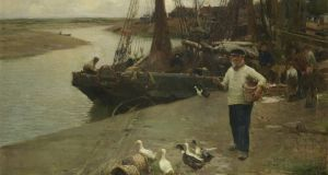 When the Boats Come In, by Walter Osborne goes under the hammer at Bonhams in London on March 1st, with a top estimate of £150,000/€173,000