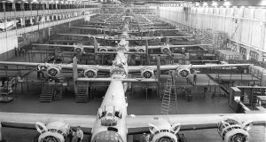 A Ford production line during the second World War.   It could  be possible that  odious populists are getting the economy right when the liberal elite did not
