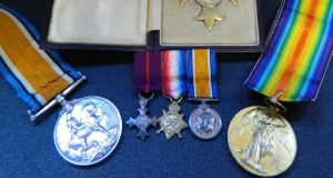 A military OBE and first World War medals, to be offered at John Weldon Auctioneers