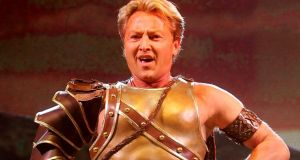 Michael Flatley will set the scene for his dance troupe who will do most of the dancing, a source said. Photograph: David Sleator