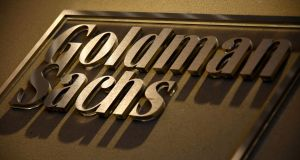 Goldman Sachs is to relocate staff, said Handelsblatt newspaper citing unidentified people in the financial industry. A spokeswoman for the bank said it hasn't made any such decisions.  Photograph: David Gray/Reuters