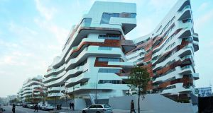 The CityLife project in Milan by  Zaha Hadid.