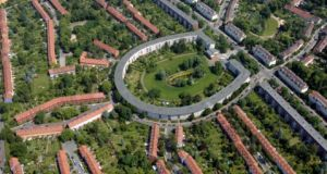 The Horseshoe housing estate in Berlin.