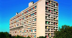 Le Corbusier's Unité apartment block  in Marseilles.