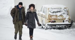 Dennis Quaid and Sofie Gråbøl are back in the Arctic Circle for series two of the drama Fortitude on Sky Atlantic on Thursday. photograph: Sky Atlantic