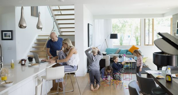 Creating one large open plan living space creates a wow factor but open plan living