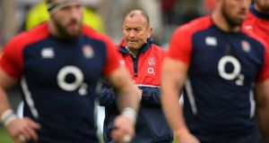 England's Australian coach Eddie Jones has named his 2017 Six Nations squad. Photograph: Getty Images