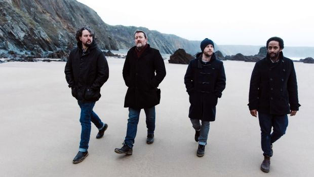 Elbow: Craig Potter, Guy Garvey, Mark Potter and Pete Turner