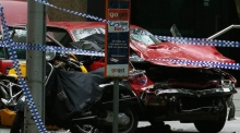 Amateur video shows car being driven erratically before Melbourne incident