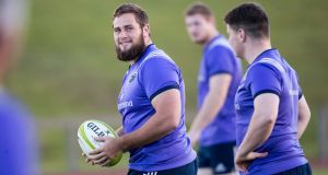 Munster's Thomas du Toit: is due home for Super Rugby pre-season in February with the Sharks. Photograph: Morgan Treacy/Inpho