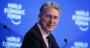 "UK chancellor Philip Hammond: ""If we are driven out of that market, and denied access to our most important market, we will reinvent ourselves and find a new way of being competitive"""
