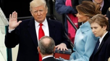 Donald Trump officially sworn in as 45th US President