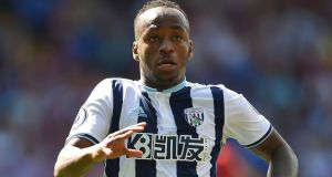 Stoke have agreed a fee of £10 million with West Bromwich Albion for striker   Saido Berahino. Photograph:  Daniel Hambury/PA Wire