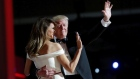 'My Way': The first dance as President Trump