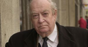 John Calder, who celebrates his 90th birthday this week. Photograph:   Dara Mac Dónaill