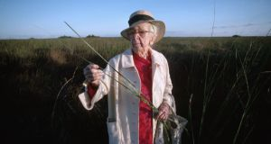 Marjory Stoneman Douglas who wrote  'The Everglades: River of Grass'. Photograph:  Kevin Fleming/Corbis via Getty