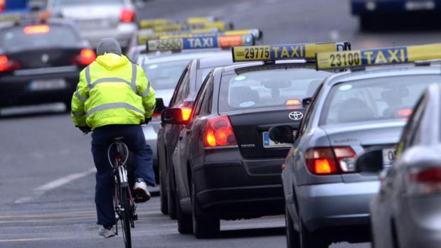 Tuesday evening's road death brings to three the number of cyclists who have lost their lives on Irish roads so far this year. Photograph: Cyril Byrne / The Irish Times Dublin cyclist. Photograph: Cyril Byrne