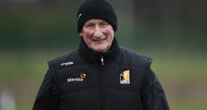 Kilkenny manager Brian Cody watched his team overcome the challenge of Westmeath on Sunday. Photograph: Tommy Grealy/Inpho