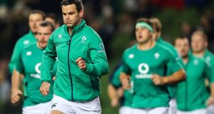 Jonathan Sexton is in Joe Schmidt's Six Nations Ireland squad. Photograph: James Crombie/Inpho