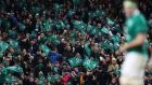 Fans visiting Dublin and Ireland fans travelling to away fixtures will feel the cost of hotel price hikes during the Six Nations. Photo: Inpho