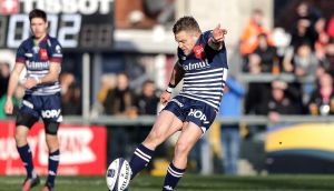 Ian Madigan's Bordeaux Bégles team play Clermont Auvergne this Sunday so even if he had been selected by Joe Schmidt he would be unable to join the Irish camp in Carton House. Photograph: Inpho