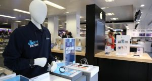 Footfall in Dixon Carphone's bricks and mortar stores was also up over the Christmas period. Photograph: Dixons Carphone/PA Wire