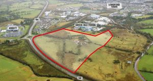 13.04 hectares  at the junction of the Ballinalee Road and  N4 Longford bypass
