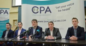The the CPA's decision to make public their opposition to Páraic Duffy's championship reform proposals on the day that he launches his annual report might be seen as either unfortunate or aggressive timing. Photograph: Sportsfile