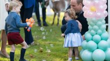 Gifts for Prince George and Princess Charlotte from Ireland: hurling jerseys and dolls