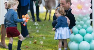 "'Other gifts given to the Princess Charlotte and Prince George from Ireland included a ""book"" from Ballyraine National School in Co Donegal, and ""toy dolls"" for both of them from another ""individual""."